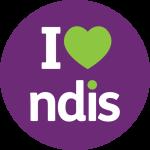 I Heart NDIS - website button