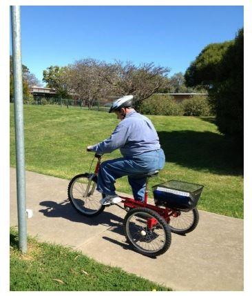 2016 ID man riding bike