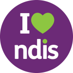 I Heart NDIS - website button
