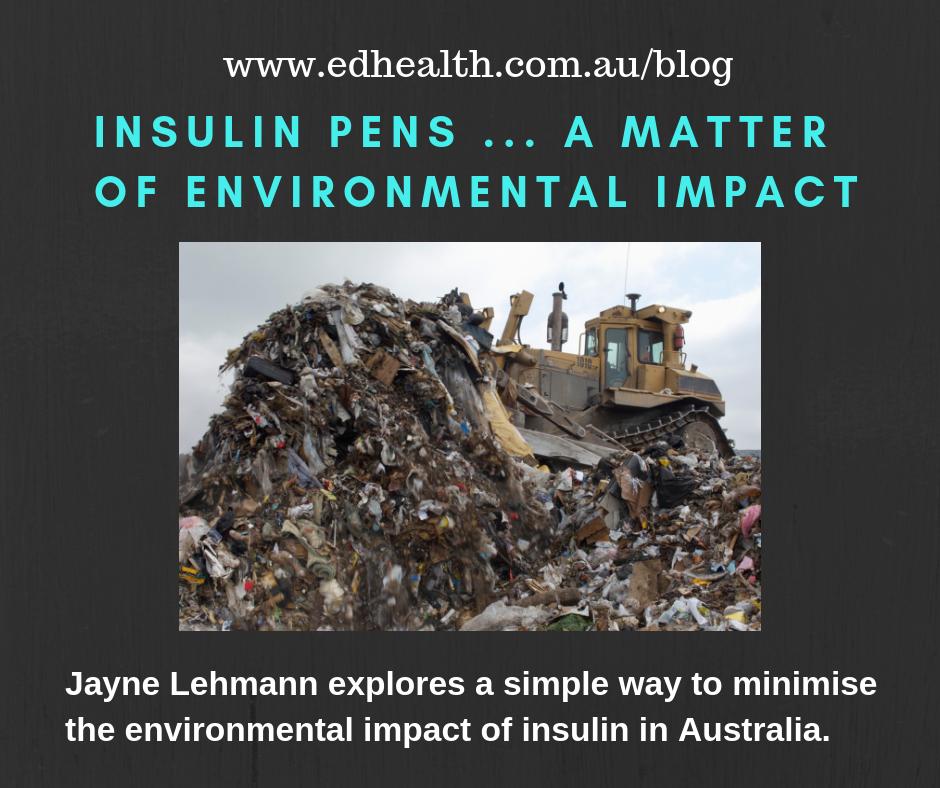 Insulin pens … A matter of environment impact